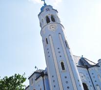 スロバキア青の教会