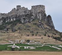 スロバキアスピシュ城