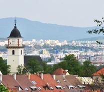 スロバキアボイニツェ城そば